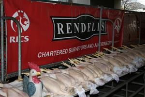 Christmas Sale of Dead Poultry